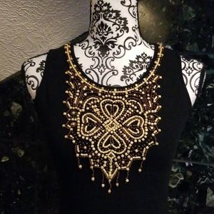 Cache Tops - Gorgeous beaded tank